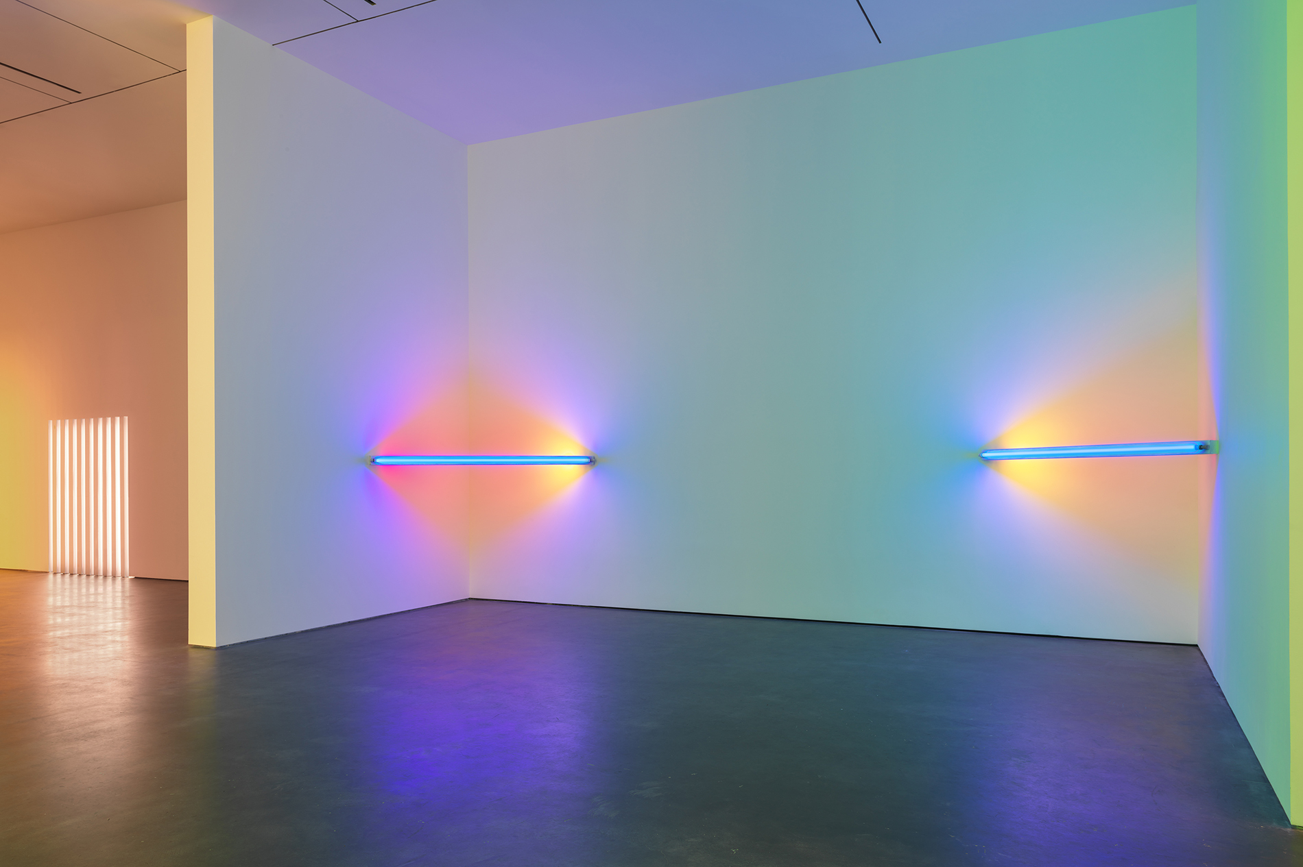 Dan Flavin: Dimensions of light