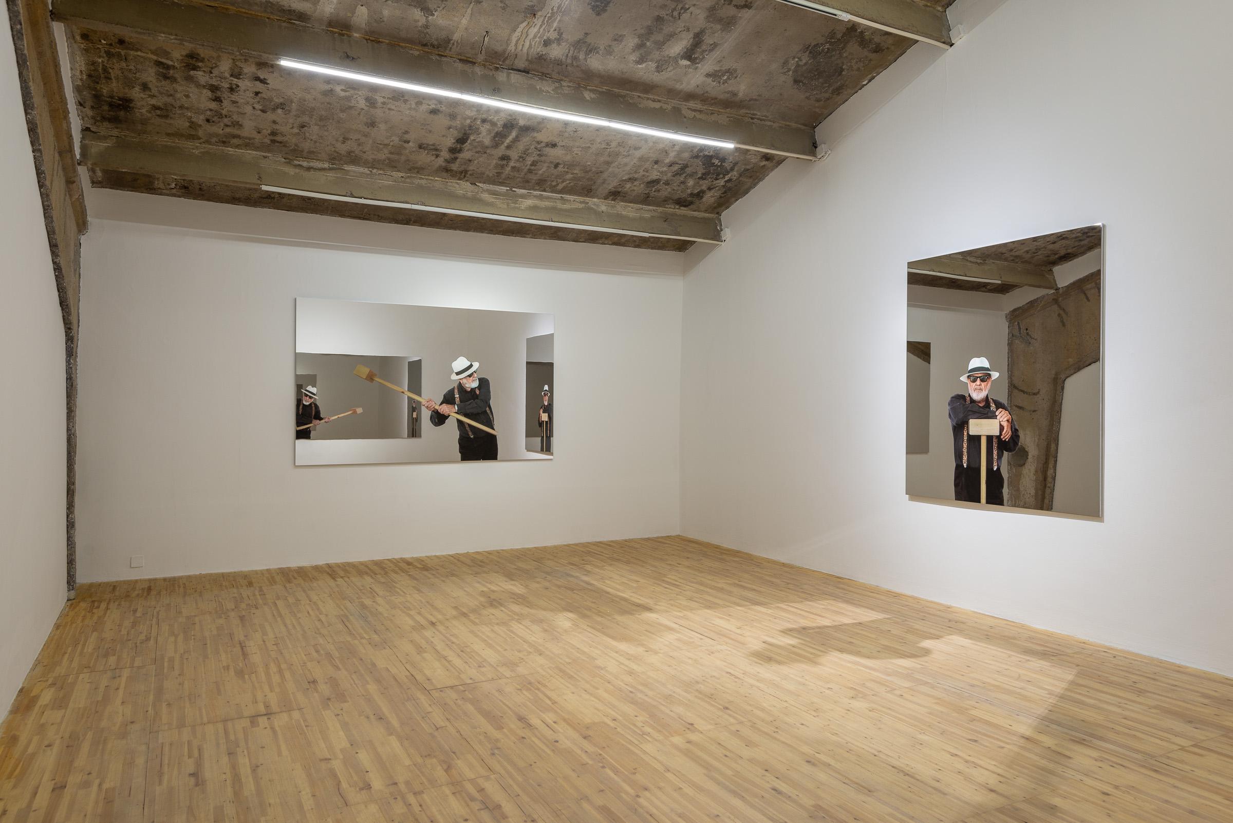 Michelangelo pistoletto oltre lo specchio at galleria continua xibt contemporary art mag - Oltre lo specchio ...