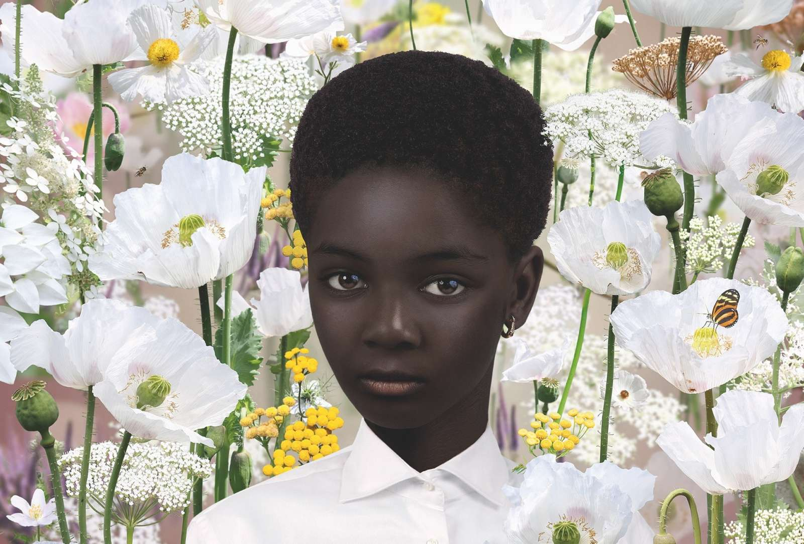 Heavenly innocence: Ruud Van Empel and the portraits from the other world.
