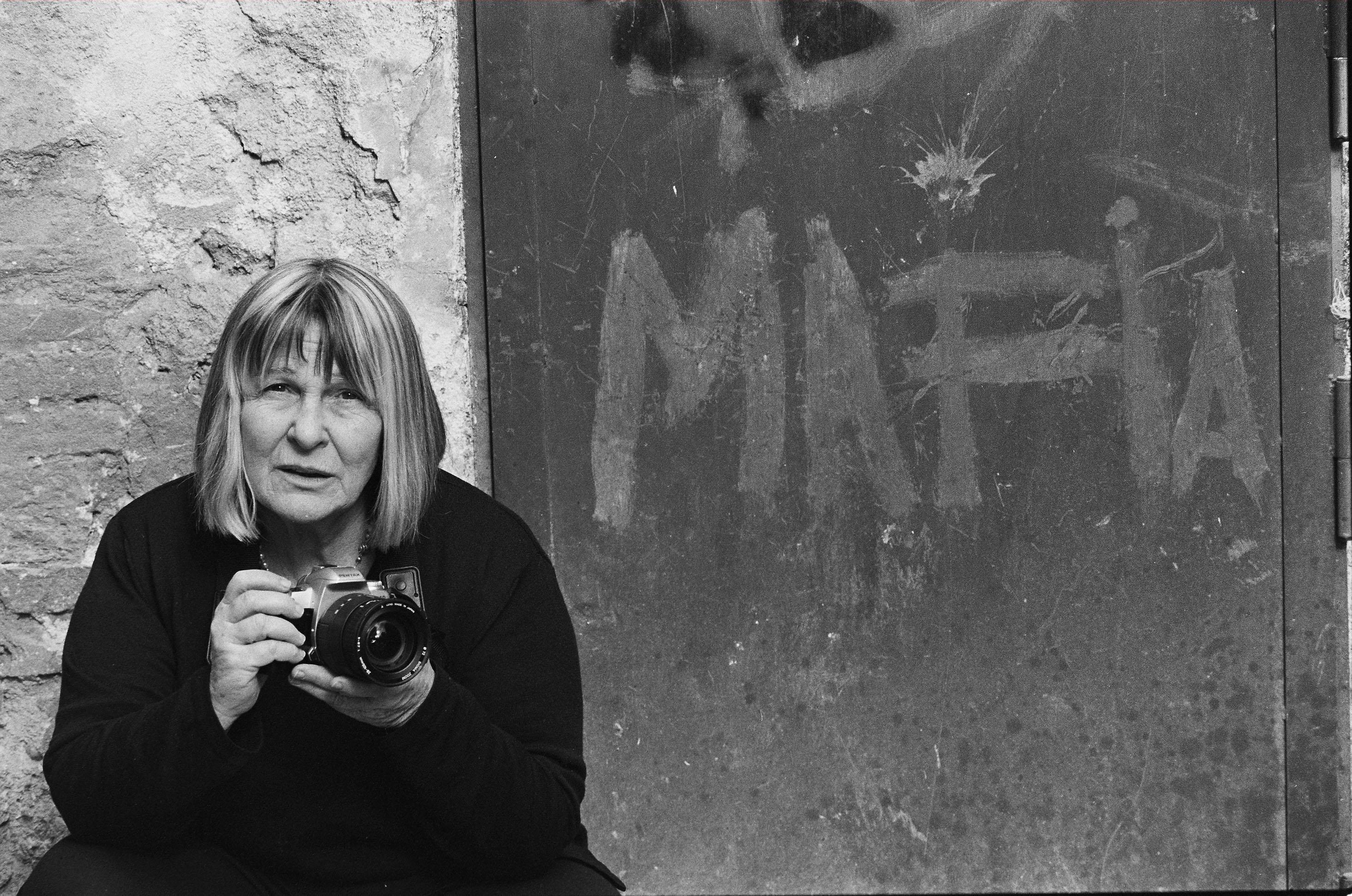 Letizia Battaglia. Portrait of a revolutionary woman.