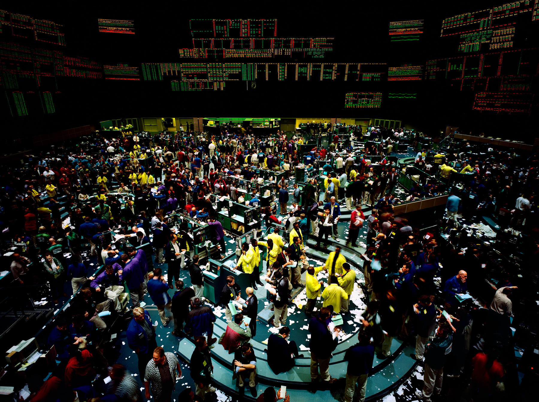 Andreas Gursky: postmodern photography.