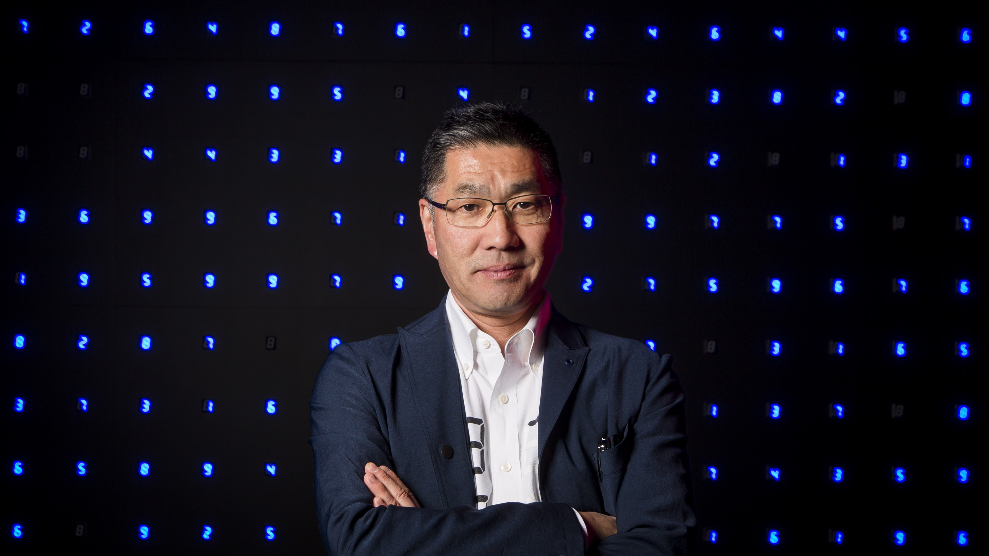 Tatsuo Miyajima / Numbers:  the key to the universe