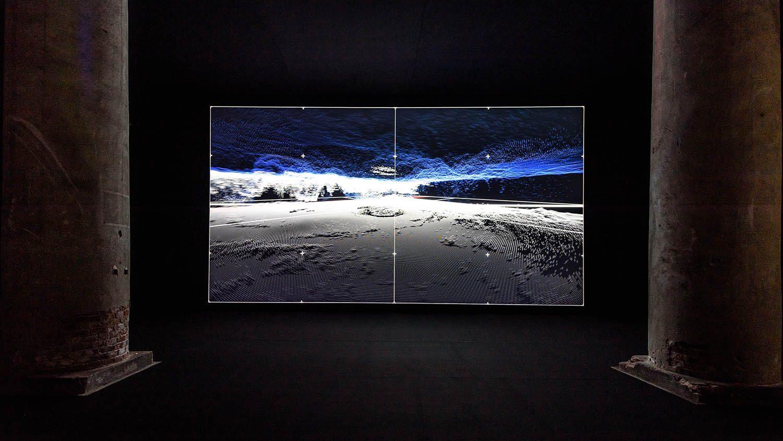 Ryoji Ikeda: Scaling the Universe