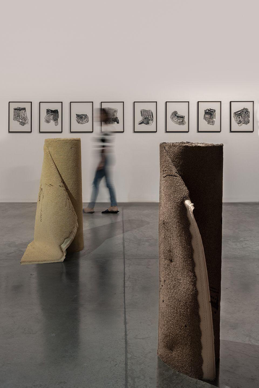 On Stones And Palimpsests Hera Büyüktaşcıyan Installation View At Green Art Gallery Dubai 2020 Xibt Contemporary Art Mag